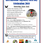 International Migratory Bird Day Celebration 2018 flyer
