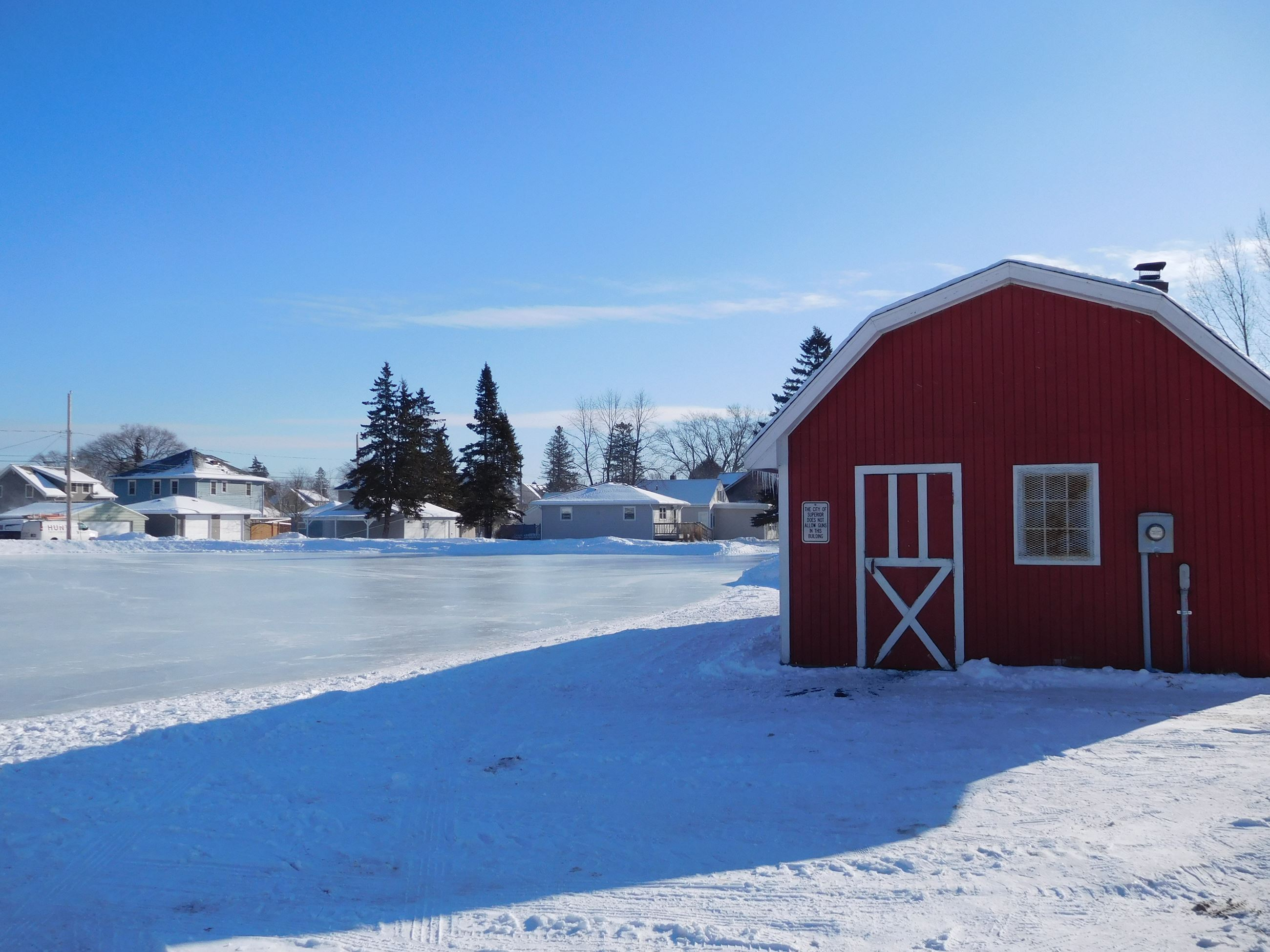 Red Barn Ice Rink