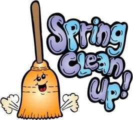 Spring clean up